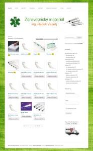 zdravotnický materiál - e-shop